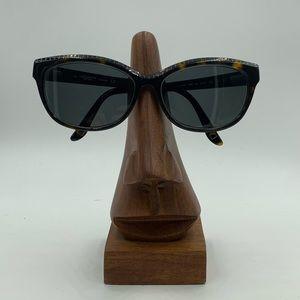 Liz Claiborne L555S Brown Oval Cat Eye Sunglasses